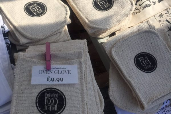 Oven Gloves -Porthleven Food Festival