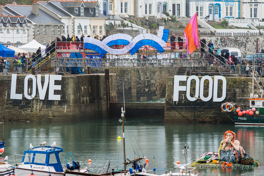 Dive under the sea for Porthleven Food Festival 2017