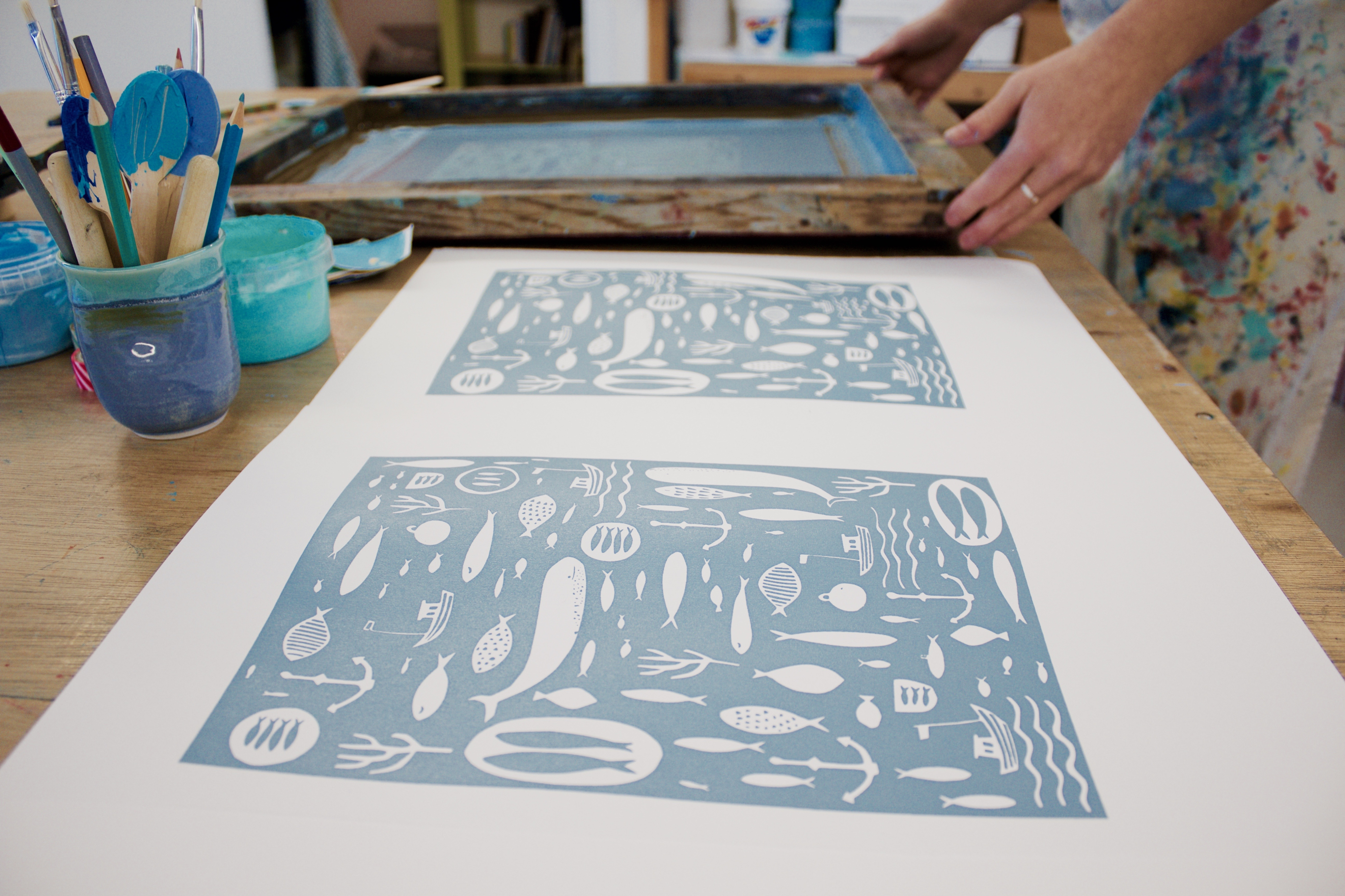 Kiwi Studios – Screen printing workshops