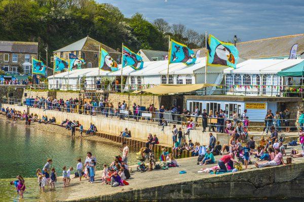 Port & Oyster Pop Up Pub at Porthleven Food Festival