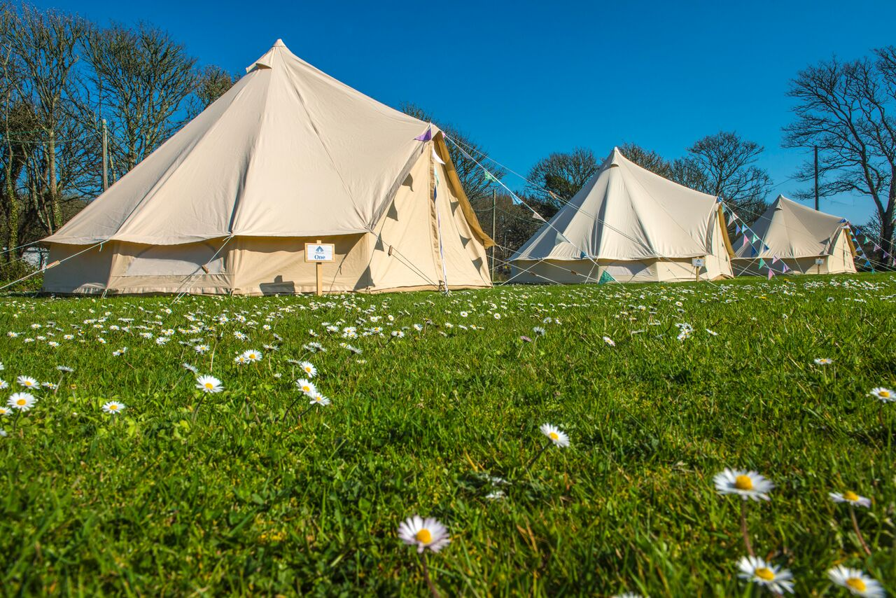 Win a Bell Tent glamping experience at Porthleven Food Festival