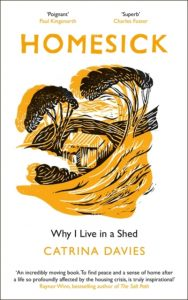 Homesick: Why I Live in a Shed book cover