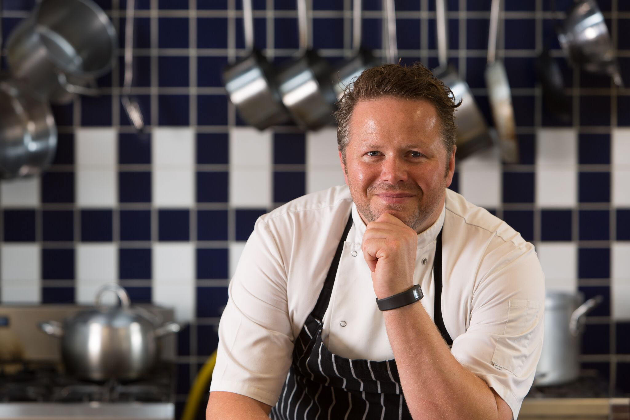 Chef Chris Eden will cook at Porthleven Food Festival 2019