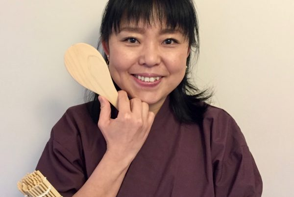 Naoko Kashiwagi will cook in the Chef's Theatre at Porthleven Food Festival