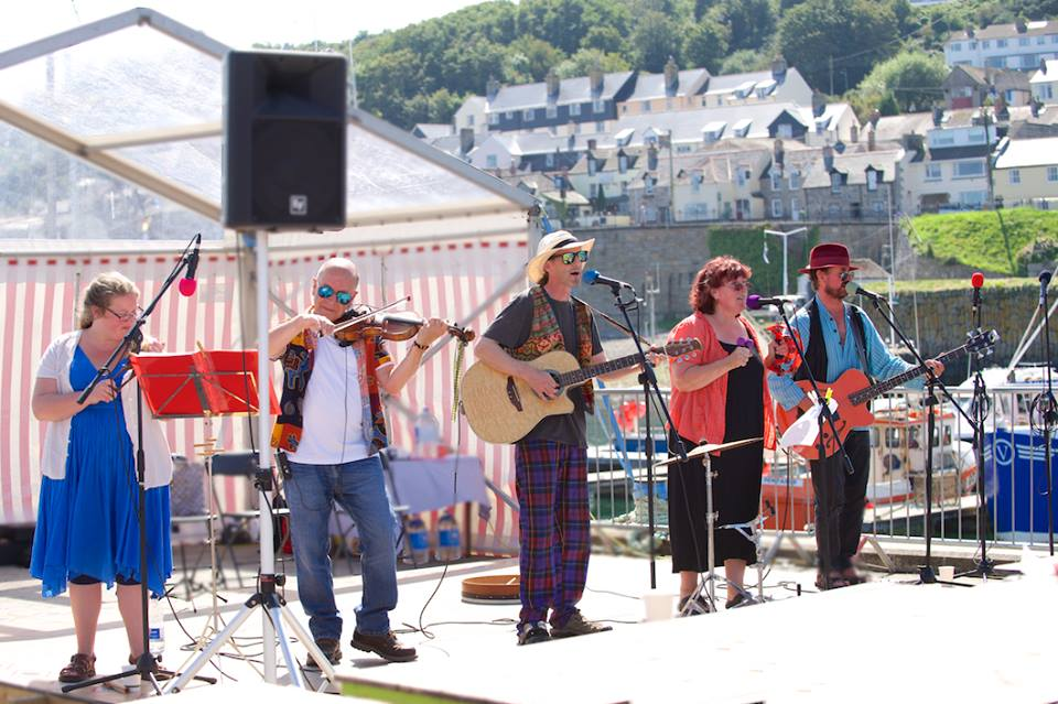 Whippletree Ceilidh Band will play at Porthleven Food Festival