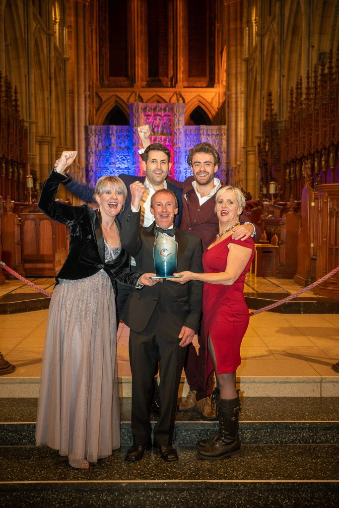 Cornwall Tourism Awards_Porthleven Food Festival team