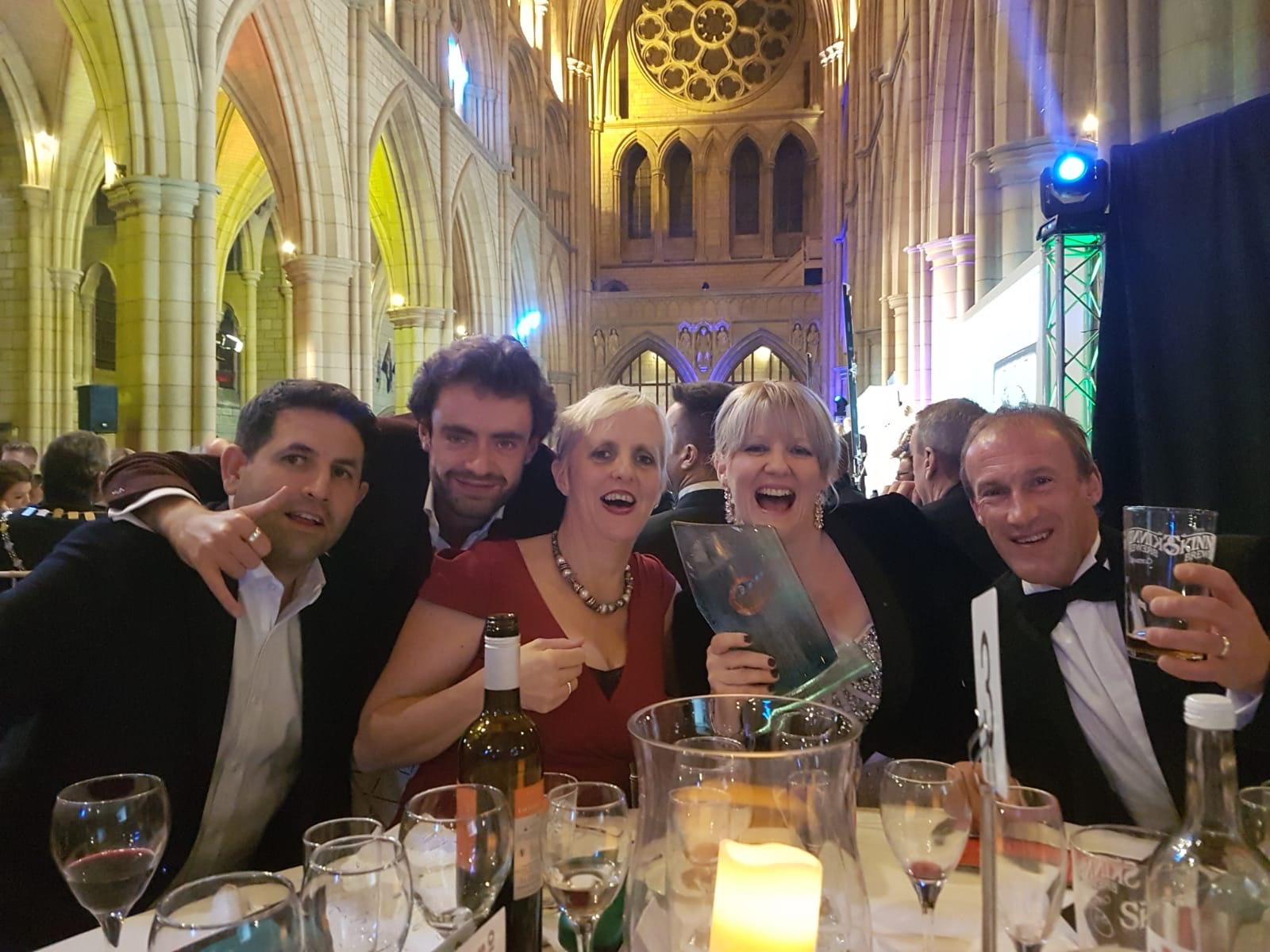 Now we've been shortlisted for a regional award