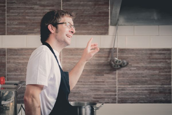 Chef Bruce Rennie will appear at Porthleven Food Festival 2020