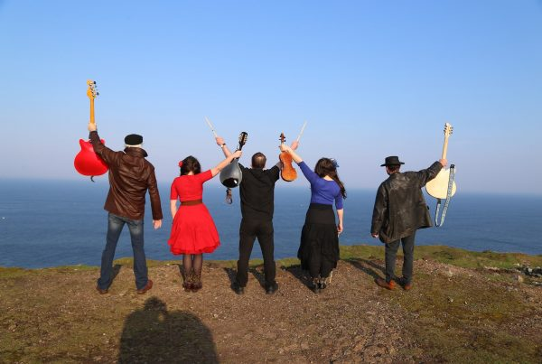 Du Glas will play the Lime Kiln Stage at the Porthleven Food Festival