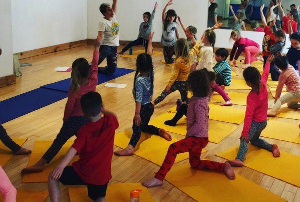 Kids Yoga Cornwall