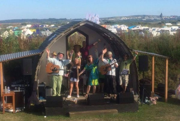 Silver Ghost Band will play the Lime Kiln Stage at Porthleven Food Festival