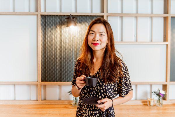 Origin Coffee's Freda Yuan